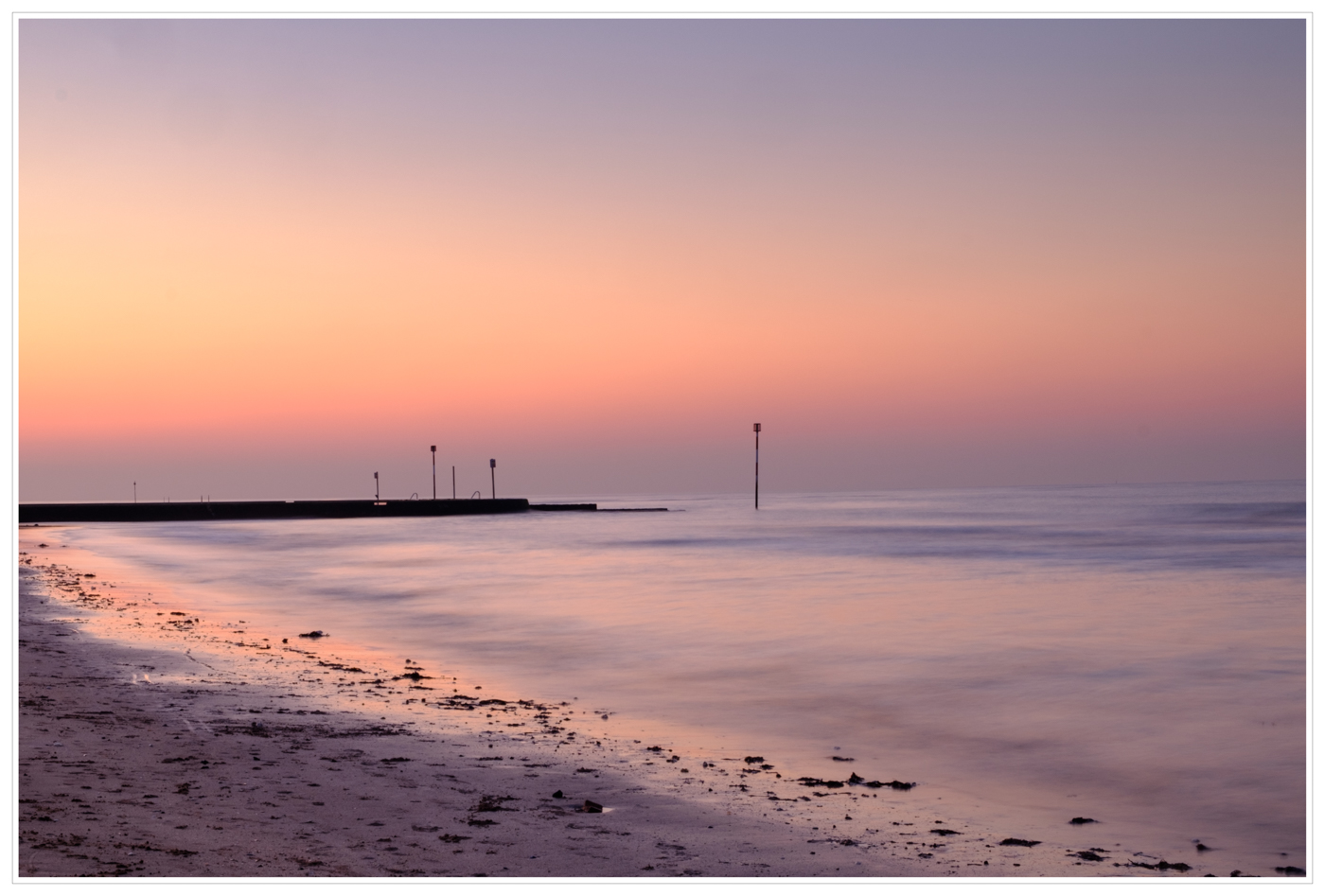 SUNSET AT MARGATE by Chris Reynolds