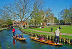 PUNTING ON THE RIVER by Reg Holmes.JPG