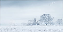 THE OLD RUINS IN WINTER by Ron Edwards.j