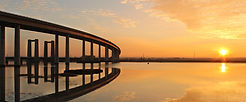 SUNSET BY THE BRIDGES by Kim Read.jpg