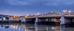 ROCHESTER BRIDGE by Jenny Monk