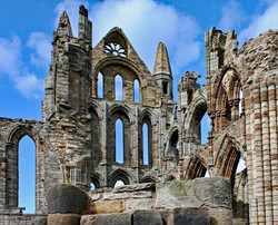 WHITBY ABBEY by Richard Peters