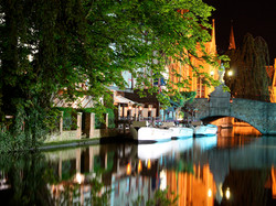 BRUGES BY NIGHT. by kim read. PRINTCOMP1.