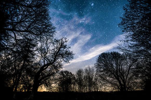 DODDINGTON AT NIGHT by Travers Bean