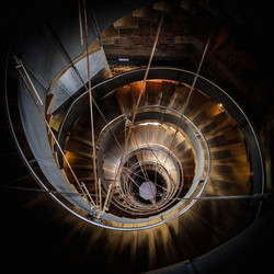 THE SPIRAL STAIRCASE by Carole Clark