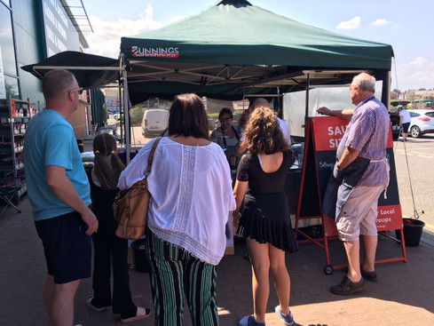 Bunnings Sausage Sizzles