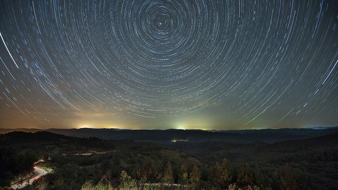 STAR TRAILS by Chris Yates
