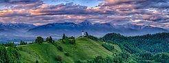 THE CHURCH OF ST PRIMOZ - SLOVENIA by Ch