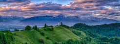 THE CHURCH OF ST PRIMOZ - SLOVENIA by Ch