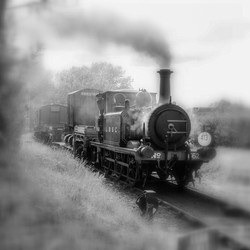 HERE COMES THE TRAIN by Chris Reynolds