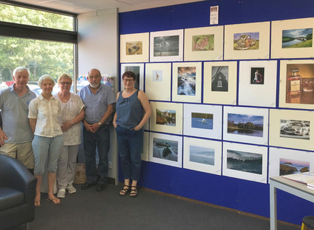25/08/19 The 2019 Library Exhibition is GO!
