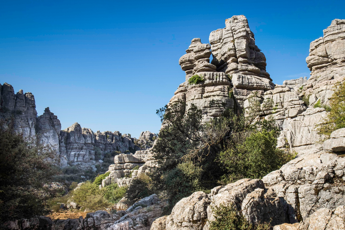 MOUNTAINS OF EL TORCAL By Jenny Monk