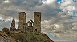 RECULVER CASTLE by Richard Peters
