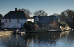 WINTER MORNING ON THE GREAT OUSE by Jenny Monk