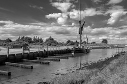 THE EDITH MAY AT LOWER HALSTOW by Chris Reynolds