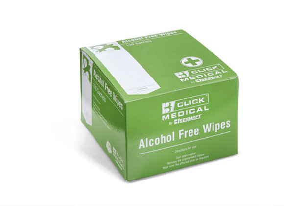 CLICK MEDICAL ALCOHOL FREE WIPES