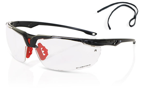 CLEAR HIGH PERFORMANCE SPORTSTYLE SPECTACLE