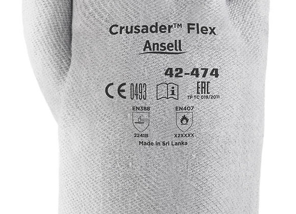 ANSELL CRUSADER FLEX 42-474 GLOVE SZ 10 (XL)