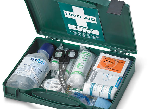 CLICK MEDICAL TRAVEL BS8599-1 2012 FIRST AID KIT