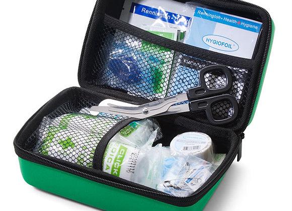 CLICK MEDICAL BS8599-2 SMALL TRAVEL KIT IN HANDY FEVA BAG