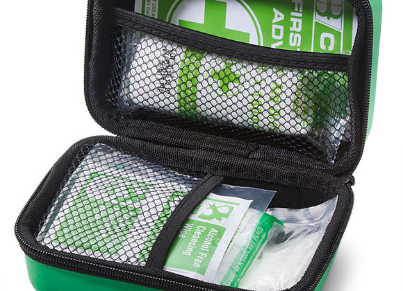CLICK MEDICAL PERSONAL FIRST AID KIT IN HANDY FEVA BAG
