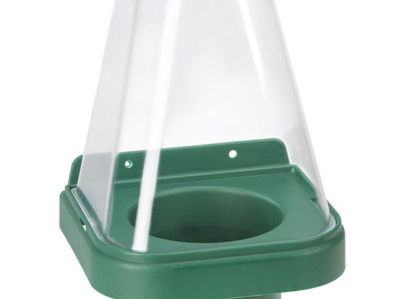 CLICK MEDICAL FC3 SINGLE EYEWASH STAND WITH COVER