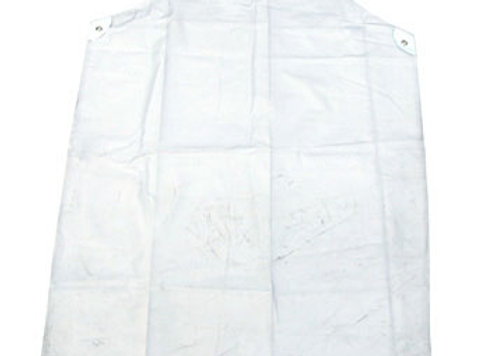 "CLEAR PVC APRON 48""X36""PACK 10"