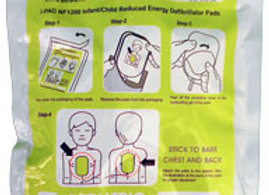 CLICK MEDICAL ELECTRODE PADS CHILD (1 PAIR)