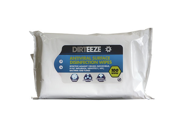 ANTIVIRAL SURFACE WIPES FLOWPACK