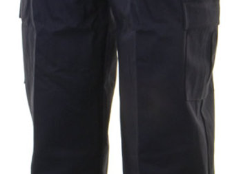 CLICK FR/AS TROUSERS NAVY