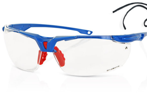 CLEAR SPORTS STYLE SAFETY SPECTACLE