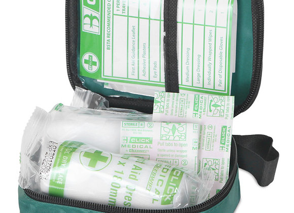 CLICK MEDICAL 1 PERSON FIRST AID KIT POUCH