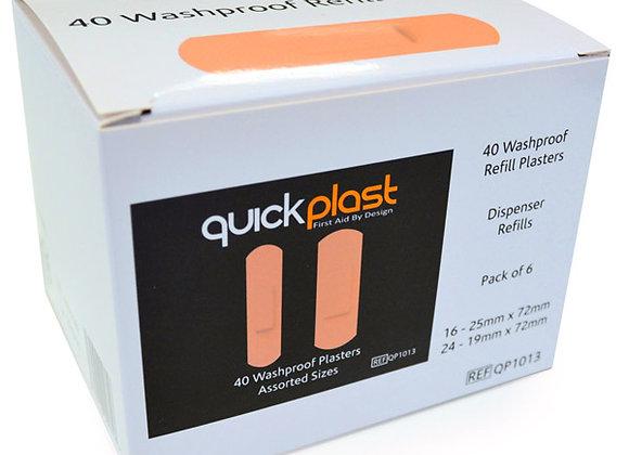 CLICK MEDICAL QUICKPLAST WATERPROOF PLASTERS