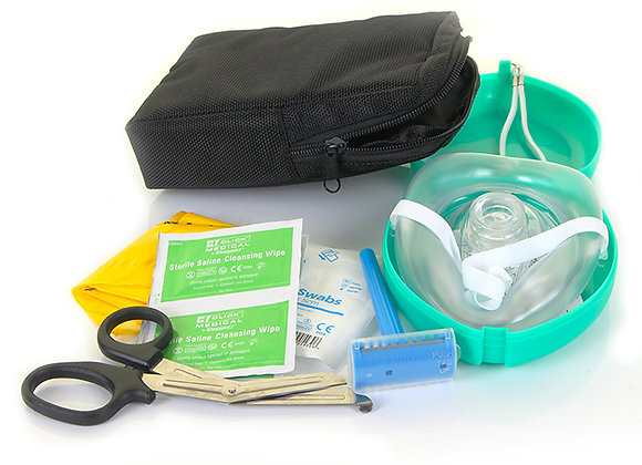 AED RESCUE READY/PREP KIT IN DELUXE BAG
