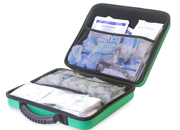 CLICK MEDICAL BS8599-1 LARGE FIRST AID KIT IN LGE FEVA BAG