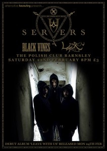 Poster for Servers at Polish club
