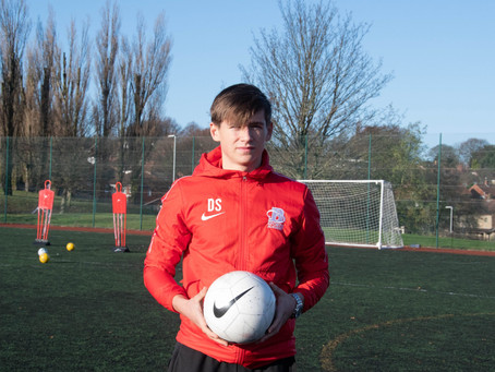 Dempsey's pride at representing English Colleges Football Association