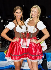 Picture of serving wenches