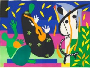 Publicity shot for Matisse