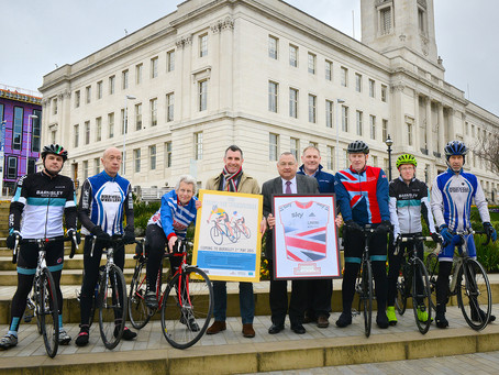 BARNSLEY COUNCIL CELEBRATES A SUCCESSFUL PARTNERSHIP WITH BRITISH CYCLING AND SKY