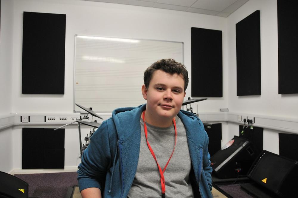 Picture of Richard Buckley in studio