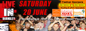 Banner for LIVE in Barnsley and link to their website