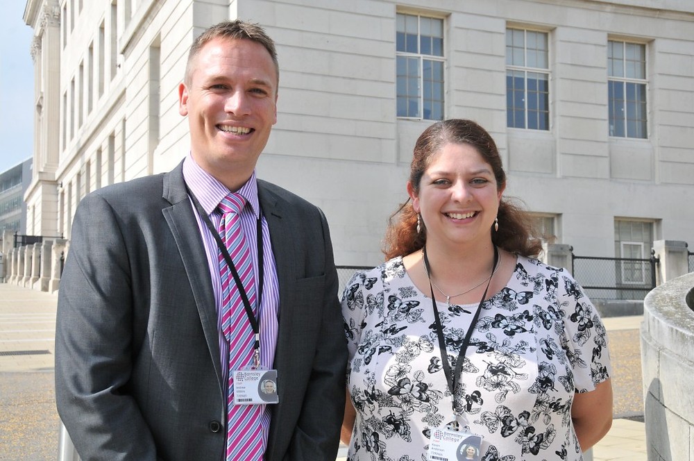 Picture of Andrew Gibbins and Karen Anderson