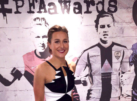 England star Amy commended at PFA awards