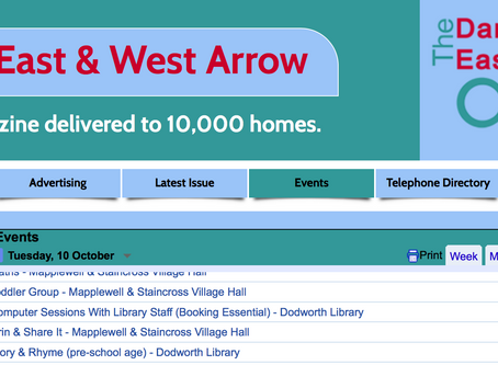 The Darton Arrow Unveils the New Events Calendar