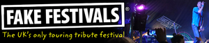 Fake Festivals Banner and link to website