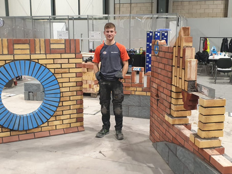 Construction Student Wins Gold at National Competition