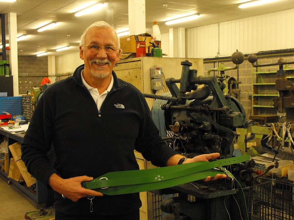 Picture of Roger Godfrey of MB Products