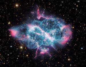 Image of a Spiral Planetary Nebula