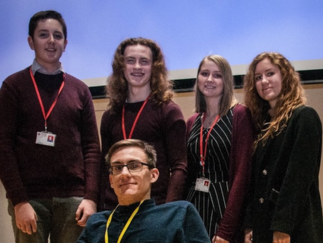 Cambridge student Rhys inspires Sixth Formers